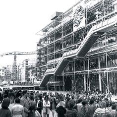 Centro George Pompidou, Paris. 1977.