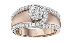 IBG Engagement Rings (White and Rose Gold). View more at www.ibgoodman.com