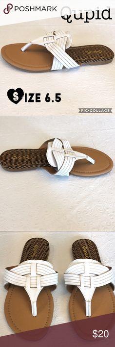 NWOT Qupid Sandals Size 6.5 NWOT Qupid Shoes Sandals