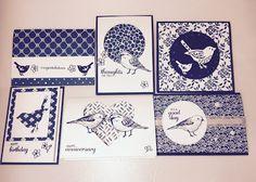 Aussie Stampers : Best Birds Class: Make 6 Cards. Stampin' Up! Australian Demonstrator.