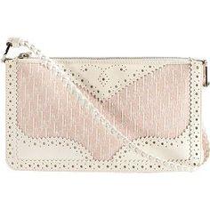 Dior Logo D'Trick Mini Shoulder Handbag- i love the embossed pattern and it's look.