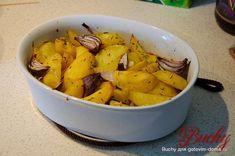 Kartoffeln, gebacken mit Thymian