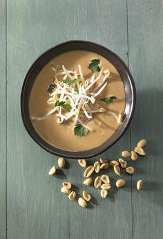 Erdnuss-Suppe