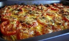 Zucchini casserole with minced meat and tomatoes – Golden recipes Sea Food Salad Recipes, Avocado Recipes, Meat Recipes, Seafood Recipes, Chicken Recipes, Cooking Recipes, Minced Meat Recipe, Vegan Coleslaw, Bake Zucchini