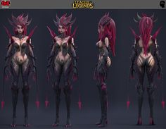 ArtStation - league of legends Zyra, nicolas collings