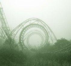 nara, giappone, lunapark abbandonato
