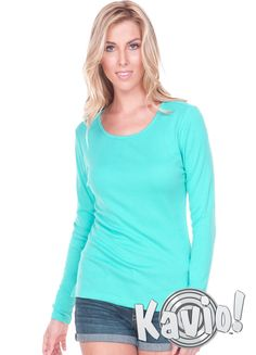 4e2282042ee09 Women Crew Neck Long Sleeve Top W1C0399 Snuggle into warmth and coziness  with our crew neck