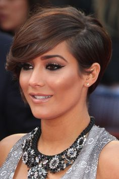 cool hairstyle for short pixie haircut