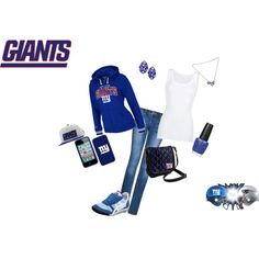 """NY Giants 2012 NFL Champions"" by luetra13 on Polyvore"