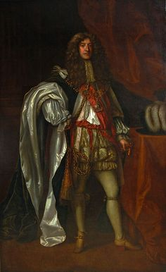 c.1660-c.1685.James II as Duke of York. Peter Lely (1618-1680).Collection of James Stunt.