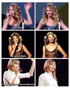 I really love the way she introduces herself during concerts! Like yeah, we know who you are! Haha