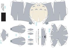 [PaperCraft] Totoro