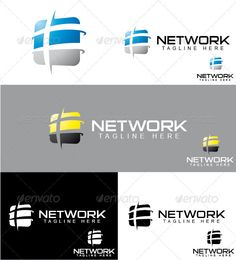 Network - Logo Design Template Vector #logotype Download it here: http://graphicriver.net/item/network-logo/3285279?s_rank=883?ref=nexion