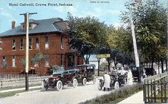 Hotel Cadwell, circa 1920 - Crown Point, Indiana by Shook Photos, via Flickr