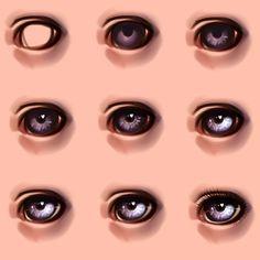 Doll Repaint Tutorial - Eyes                                                                                                                                                     More