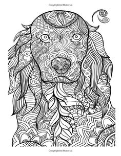 250 Best Coloring - dogs images   Coloring book, Coloring books ...