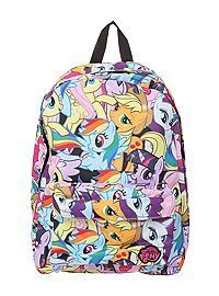 My Little Pony Mane Six Backpack from Hot Topic. Shop more products from Hot Topic on Wanelo. My Little Pony Party, Mlp My Little Pony, My Little Pony Friendship, My Little Girl, Rainbow Dash, Dibujos Toy Story, My Little Pony Backpack, Little Poney, Cute Backpacks