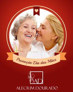 Promoção Dia das Mães Alecrim Dourado Modas