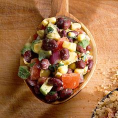 Learn how to make Black Bean Salad. MyRecipes has 70,000  tested recipes and videos to help you be a better cook