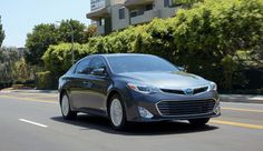 The new 2013 Toyota Avalon has a sleek and sophisticated look