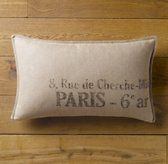 Vintage French linen pillows from Restoration Hardware. $28