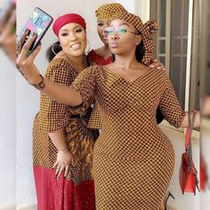 Beautiful curvy women in Ankara Fashion Dresses For Wedding Guest African Print Dresses, African Print Fashion, African Fashion Dresses, African Dress, Fashion Prints, Ankara Fashion, African Prints, African Wear, African Style