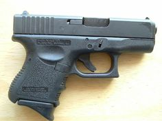 Glock 26, 9mm, my carry pistol