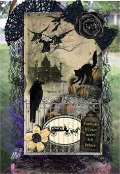 Halloween Tag side 1 - By: LaceyKat | 04-Sep-11 (image 1 of 2)