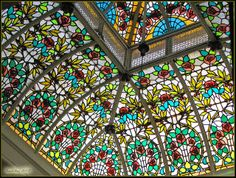 Vidriera Modernista de la Casa Maestre (Cartagena) | Flickr: Intercambio de fotos