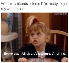 A shout-out to all the girls living for Christ on the college campus! These 15 hilarious memes go out to you.