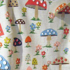print & pattern: NEW SEASON - cath kidston console & wallpaper wallpaper Mushroom Crafts, Mushroom Art, Textures Patterns, Print Patterns, Cath Kidston, Fabulous Fabrics, Surface Pattern, Pip Studio, Cross Stitch Patterns