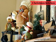 Sunny Simple Life: Christmas Kitchen, #gingerbread