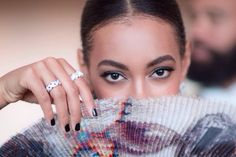 Solange Knowles at the Met Gala 2015 wearing Cartier