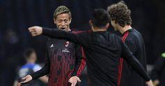 Milan Tidak Akan Jual Honda -  http://www.football5star.com/liga-italia/ac-milan/milan-tidak-akan-jual-honda/