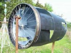 SHAZIZZ'S REDNECK WIND TURBINE! - YouTube