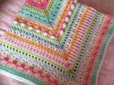 Ravelry: KnitterChelle's Fruit Salad baby blanket