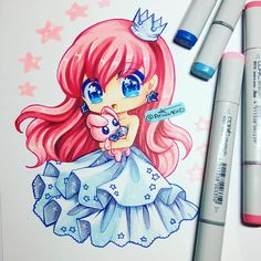 Random chibi princess~ wanted to draw something cutesy and frilly! Tomorrow I'll be finishing up my commissions so that next Saturday I can announce my contest! Loli Kawaii, Kawaii Chibi, Kawaii Art, Kawaii Anime, Kitten Drawing, Manga Drawing, Manga Art, Anime Art, Kawaii Drawings