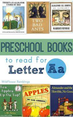 Letter A books!