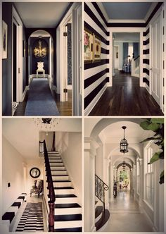 All black and white! Yes please, my dream house interior!!
