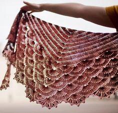 Venus Shawl Kit - Crocheting Kit includes Yarn & Pattern!