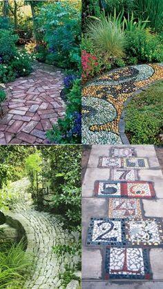 A Whole Bunch Of Beautiful & Enchanting Garden Paths - Style Estate - #garden #path #Gardenpaths