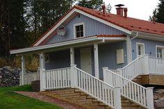 Suvetar, 4 huonetta, keittiö ja sauna Huoneistoala: 101,5 M² Deck, Outdoor Decor, Home Decor, Decoration Home, Room Decor, Front Porches, Home Interior Design, Decks, Decoration