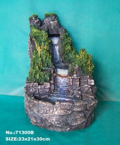 Water Fountain, Water Fall from High Mountain for my village