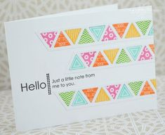 Little Note Card by Nichole Heady for Papertrey Ink (May 2013)