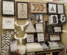 Cute Decor From Hobby Lobby To Go With The Tribal Theme