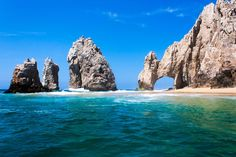 Land's End and the Arch in Cabo San Lucas, Mexico.