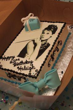 Breakfast At Tiffany's cake!