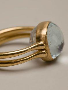 Marie Helene De Taillac Reversible Ring - Capitol - Farfetch.com