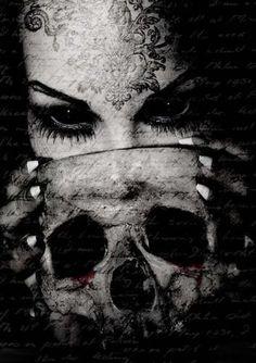 dark beauty eyes skull#Repin By:Pinterest++ for iPad#