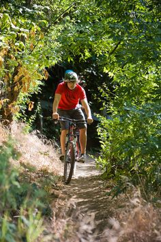 mountain cycling trails woohoo